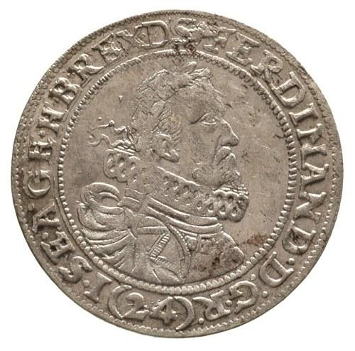 24 krajcary 1623, Wrocław, moneta z popiersiem Ferdynan...