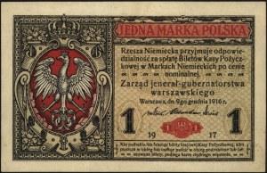 1 marka polska 9.12.1916, \jenerał, seria A