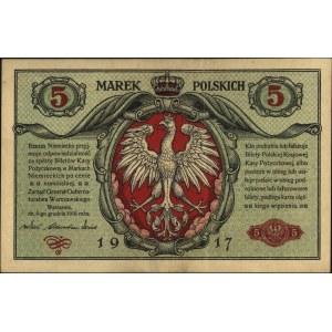 5 marek polskich 9.12.1916, \Generał, \Biletów\ i \b...