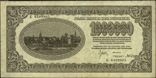 1.000.000 marek polskich 30.08.1923, seria E z numeracj...