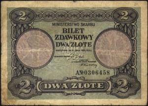 2 i 5 złotych 1.05.1925, seria A i F, Miłczak 60 i 61, ...