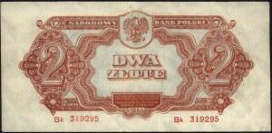 2 złote 1944, \obowiązkowe, seria Bk