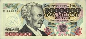 2.000.000 złotych 16.11.1993, seria B, Miłczak 195