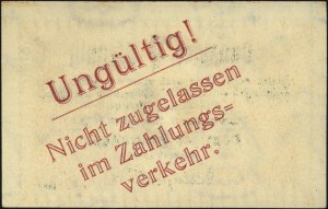 1 fenig 1.11.1923, znak wodny odwrócony, na stronie odw...