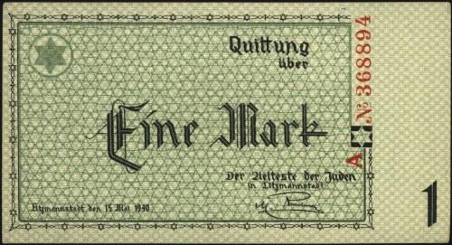 50 fenigów i 1 marka 15.05.1940, Miłczak Ł1 i Ł2b, łącz...