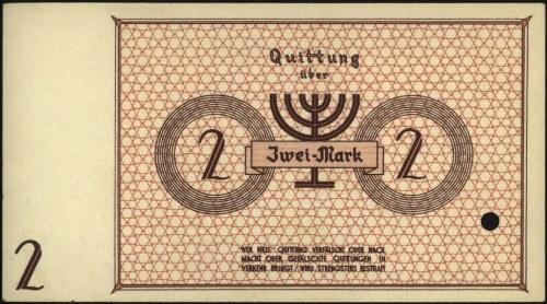 2 marki 15.05.1940, WZÓR, No 000000, perforowane, Miłcz...