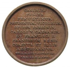 Zygmunt Stary - medal z serii królewskiej autorstwa J.J...