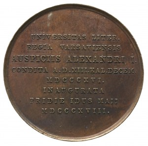 medal autorstwa K.Stuckharta na założenie Uniwersytetu ...