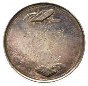medal chrzestny, autorstwa Franciszka Stuckhart'a 1822-...