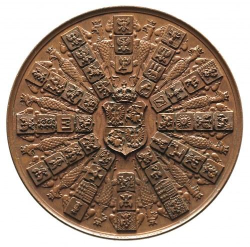 medal 100-lecie Konstytucji 3 maja autorstwa L. Ch. Lau...