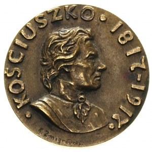 medal autorstwa K. Żmigrodzkiego- 100 rocznica śmierci ...