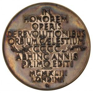 Mikołaj Kopernik - medal autorstwa Wojciecha Jastrzębow...