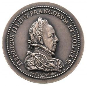 medal z Henrykiem Walezym (królem Polski), odbitka z po...