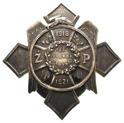 II Rzeczpospolita 1918-1939, odznaka pamiątkowa Żandarm...