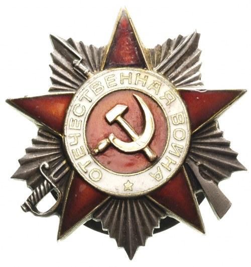 odznaka Bohatera Wojny Ojczyźnianej, II klasa, II waria...