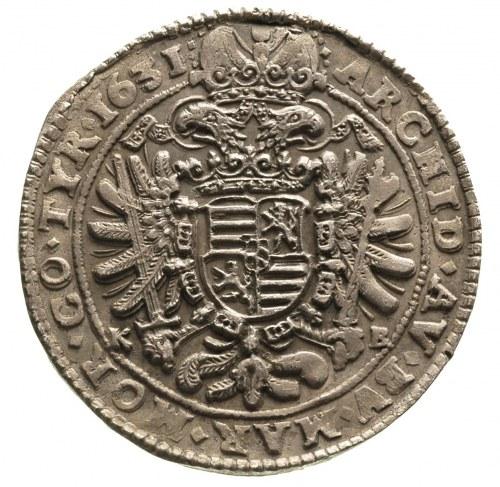 Ferdynand II 1619-1637, półtalar 1631 / KB, Krzemnica, ...