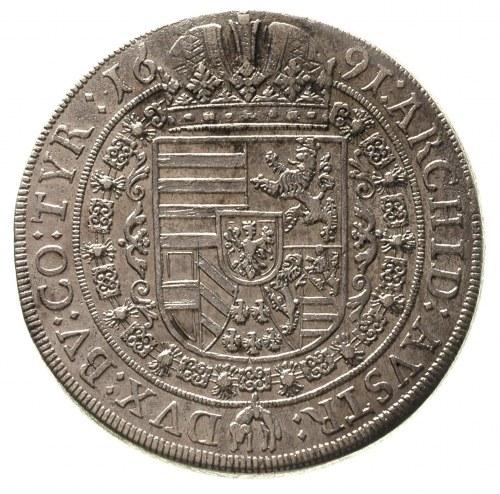 Leopold I 1657-1705, talar 1691, Hall, Dav. 3243