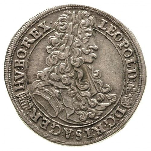 Leopold I 1657-1705, półtalar, 1703 / KB, Krzemnica, He...