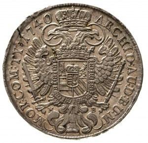 Karol VI 1711-1740, talar 1740 / K.B., Krzemnica, Dav. ...