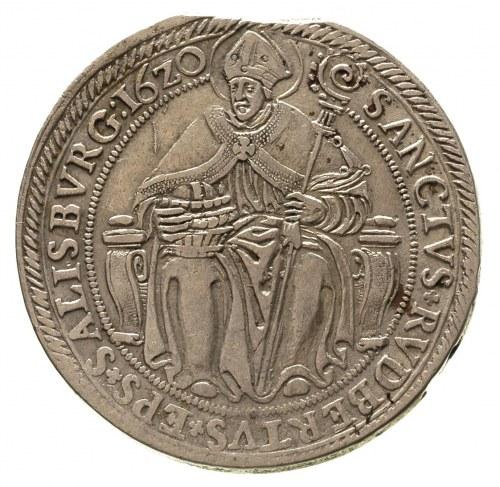Paris von Lodron 1619-1653, talar 1620, Dav. 3497, Prob...