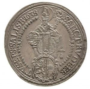 Paris von Lodron 1619-1653, talar 1638, Dav. 3504, Prob...
