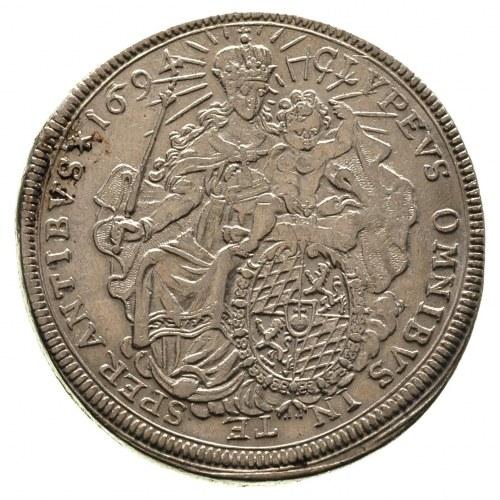 Maksymilian II Emanuel 1679-1726, talar 1694, odmiana z...