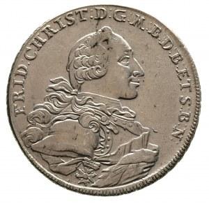 Fryderyk Krystian 1763-1769, talar 1766 / E.S., Dav. 20...
