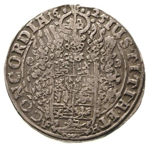 Krystian 1599-1633, talar 1625 / VF-H, Clausthal, Dav.6...