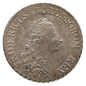 Fryderyk II Wielki 1740-1786, talar 1784/A, Berlin, Neu...