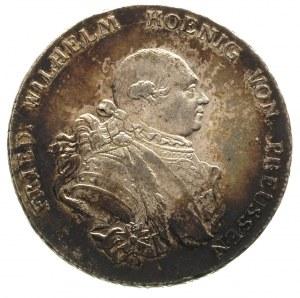 Fryderyk Wilhelm II 1786-1797, talar 1789/A, Berlin, Ne...
