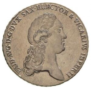 Fryderyk August 1763-1806-1827, talar wikariacki 1790 /...