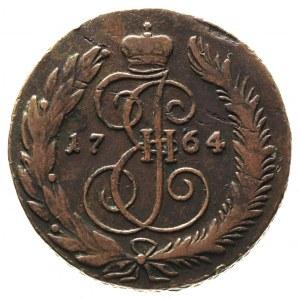 5 kopiejek 1764 / C-M, Sestrorieck, odmiana z małymi li...