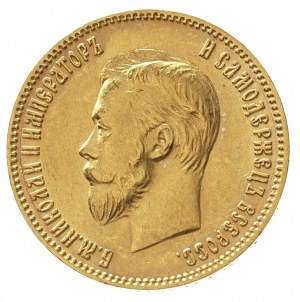 10 rubli 1902 / A-P, Petersburg, złoto 8.59 g, Kazakov ...