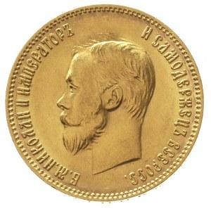 10 rubli 1903 / A-P, Petersburg, złoto 8.60 g, Kazakov ...