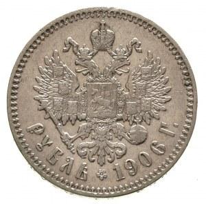 rubel 1906 / Э-Б, Petesburg, Kazakov 310, rzadki roczni...