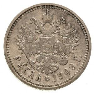 rubel 1909 / Э-Б, Petersburg, Kazakov 362