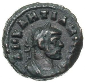 Dioklecjan 284-305, tetradrachma bilonowa 292/293, Alek...