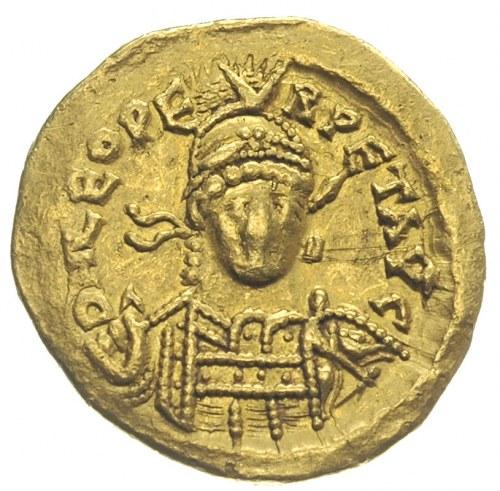 Leon I 457-474, solidus 462-466, Konstantynopol, oficyn...