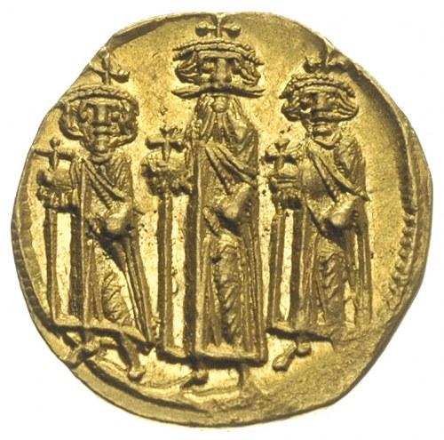Herakliusz, Herakliusz Konstantyn i Heraklonas 638-641,...