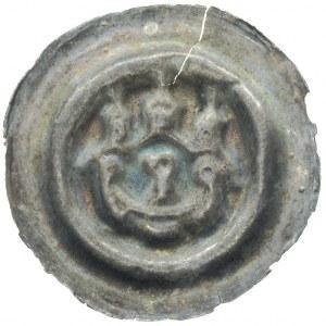 Henryk III Biały 1248-1266, szeroki brakteat (2 poł. XI...