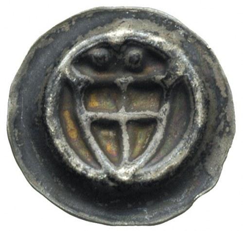 brakteat; Tarcza zakonna, srebro 0.20 g, Neumann 1.h, W...
