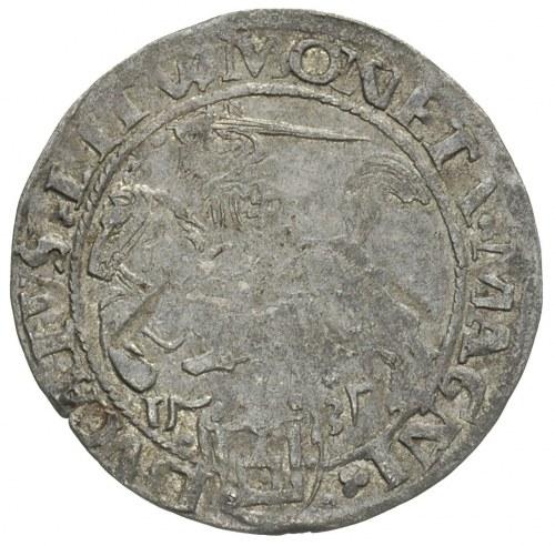 grosz 1535, Wilno, odmiana z literą N pod Pogonią, końc...