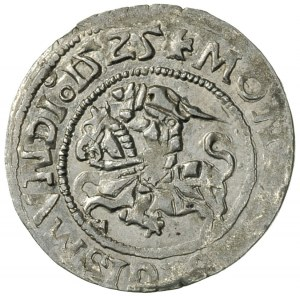 półgrosz 1525, Wilno, Ivanauskas 1S319-10, T. 3, rzadsz...