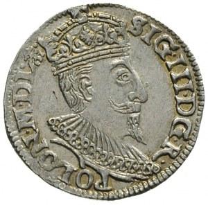 trojak 1595, Olkusz, Iger O.95.1.c (R1), bardzo ładny e...