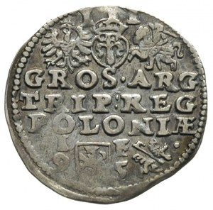 trojak 1595, Lublin, Iger L.95.6.c. (R)
