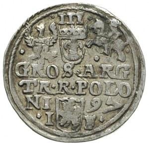 trojak 1597, Olkusz, Iger O.97.2.k