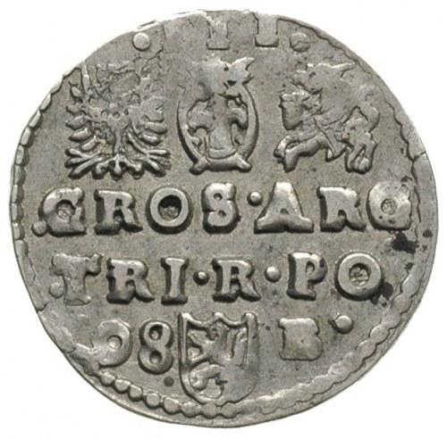 trojak 1598, Bydgoszcz, odmiana z datą po lewej stronie...