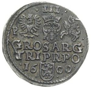 trojak 1600, Poznań, odmiana z literą P przy Orle, Iger...
