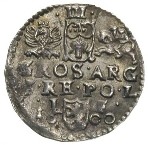 trojak 1600, Lublin, na dole pełna data rozdzielona her...