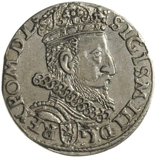 trojak 1603, Kraków, odmiana litera K dzieli datę, Iger...